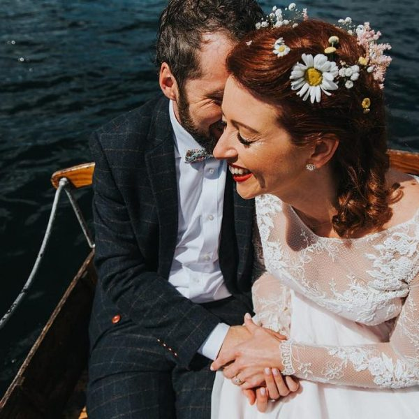A rustic home made wedding in the Lake District