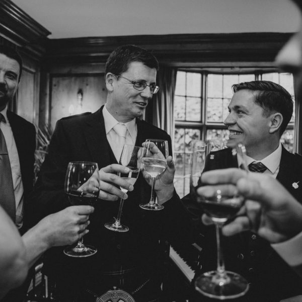 London wedding photography / Burgh House Hampstead wedding / Richard and Philip