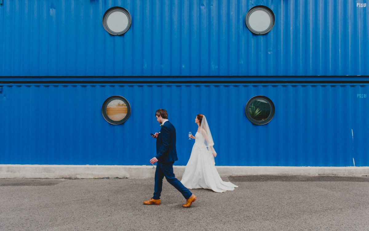 London wedding photography / Trinity Buoy Wharf wedding with riverboat reception / Katie and Tommy